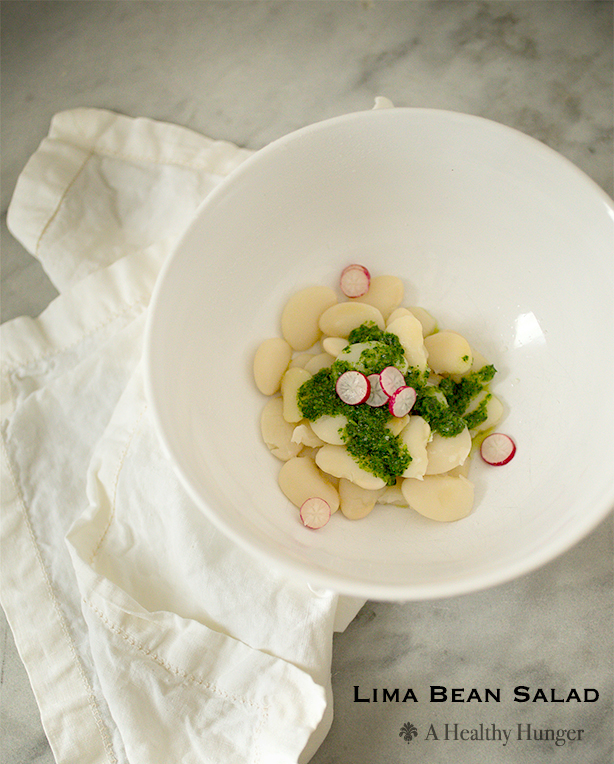 Lima Bean Salad~ A Healthy Hunger