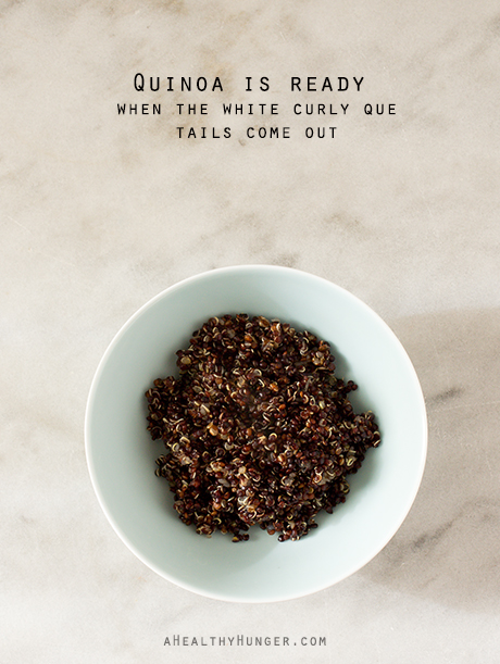 Quinoa~A Healthy Hunger