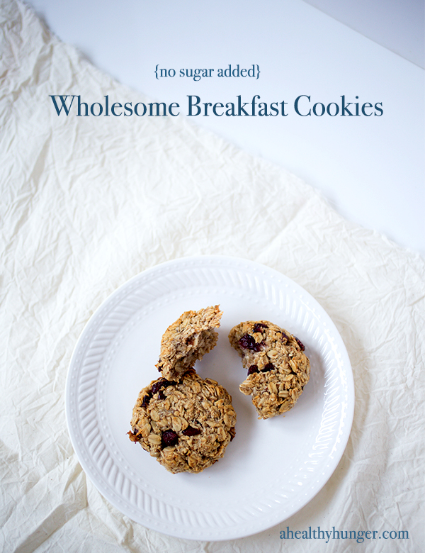 Breakfast Cookie~ A Healthy Hunger