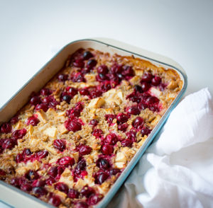 Baked Oatmeal~ A Healthy Hunger