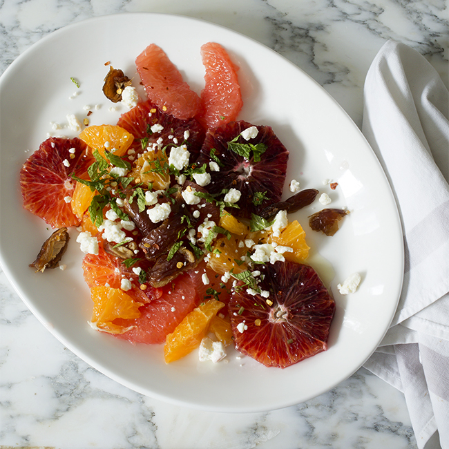 Spicy Citrus Salad - A Healthy Hunger