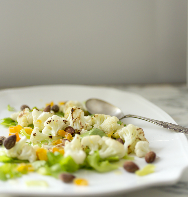 Cauliflower Celery Salad- A Healthy Hunger