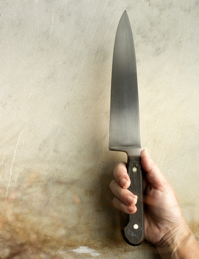My beloved knife and the joy of quality tools- A Healthy Hunger